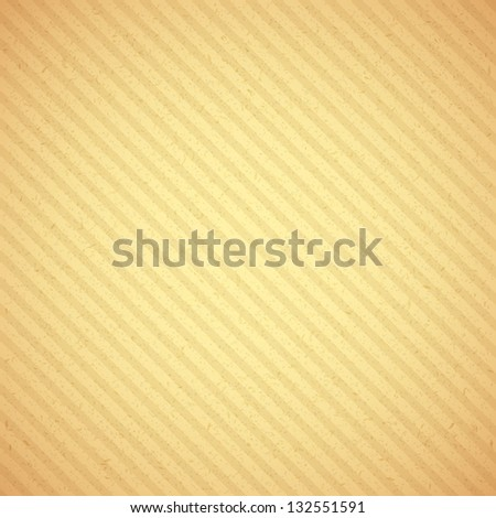 Old paper background from spotted dirt cardboard. EPS 10 vector illustration. Used transparency layers of particles and stripes - stock vector