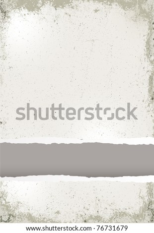 Old paper grunge background - stock vector