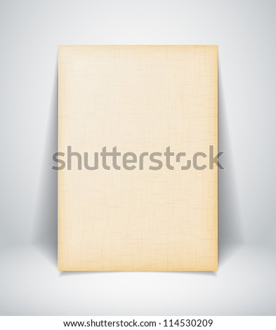 Old paper texture. - stock vector
