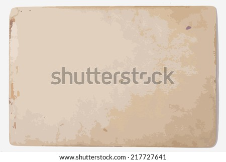 Old Paper Texture. Abstract Grunge Background. Vector Illustration.