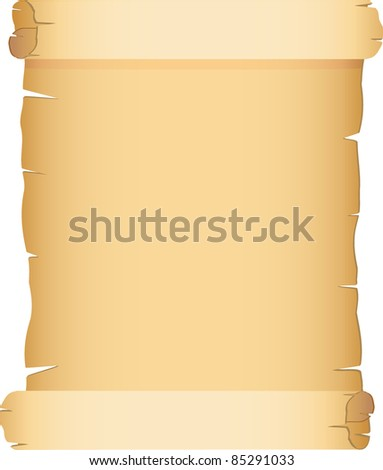 old paper vector illustration - stock vector