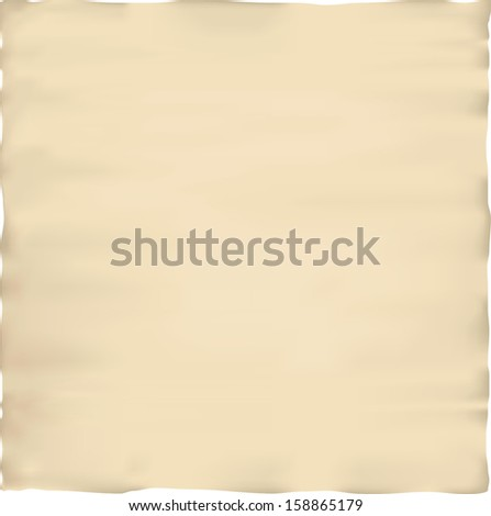 Old parchment paper texture - stock vector