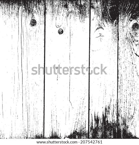 Old Planks Overlay  Background for your design. EPS10 vector. - stock vector