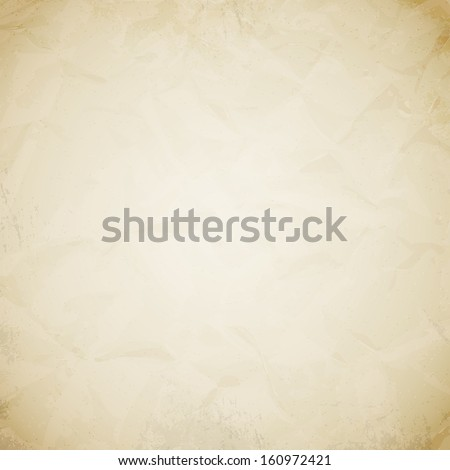 Old realistic vector paper background - stock vector
