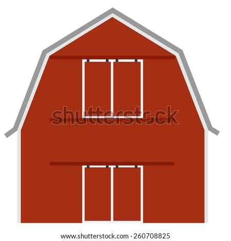 Red Barn Doors Clip Art red barn door stock photos, royalty-free images & vectors