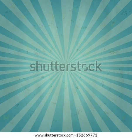 Old Sun Burst Background With Gradient Mesh, Vector Illustration  - stock vector