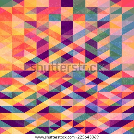 Old vector seamless pattern. Abstract colorful background. Vector background. Vintage pattern. Retro pattern. - stock vector