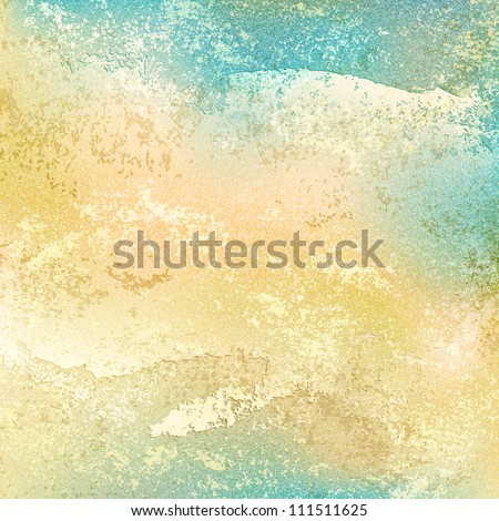 Old vintage background with grunge texture cracks, remnants of the paint layer and noise effect. Blank abstract backdrop with space for text. This vector illustration clip-art design element 10 eps. - stock vector