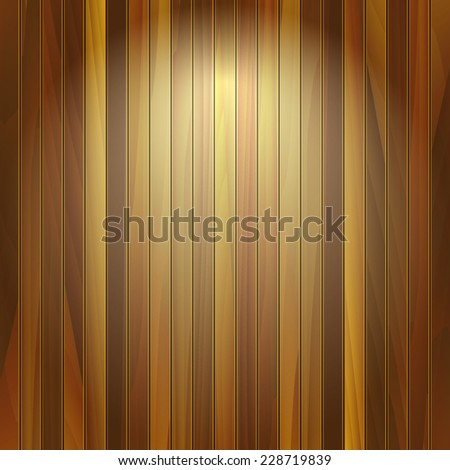 Old wooden texture. Wood planks texture. Vector illustration wooden background. Realistic wooden texture with boards. - stock vector