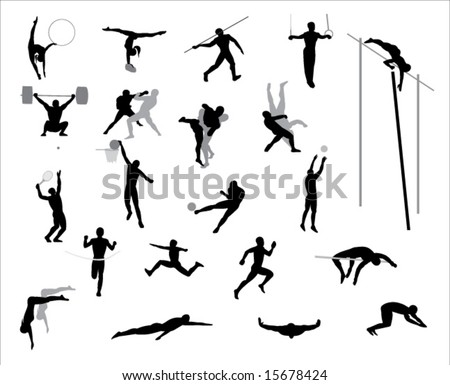 Olympic games.Vector. - stock vector