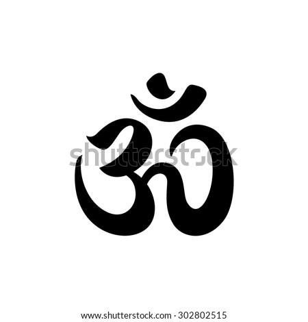Om sign and symbol logo icon - stock vector