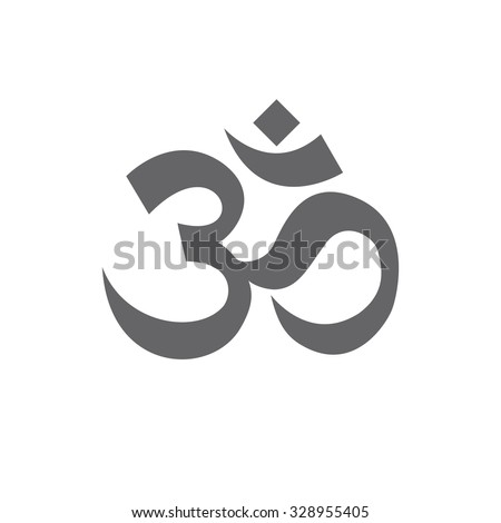 om sign and symbol, vector illustartion - stock vector