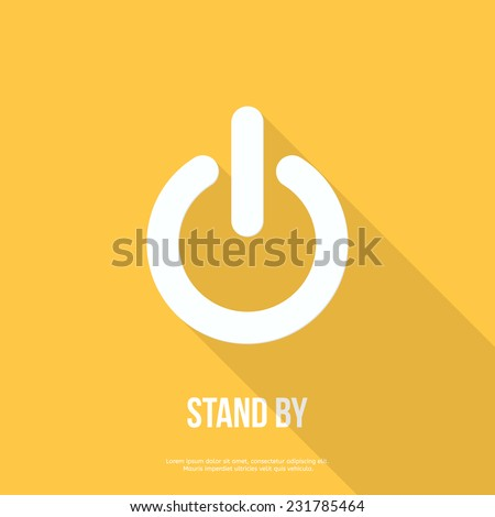 On Off Switch Icon Power Symbol Stock Vector 231785464 Shutterstock