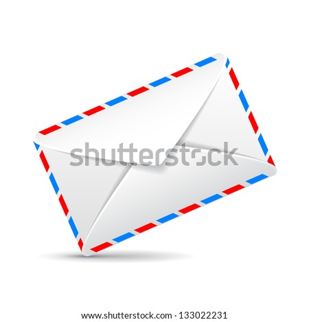 one mail envelope