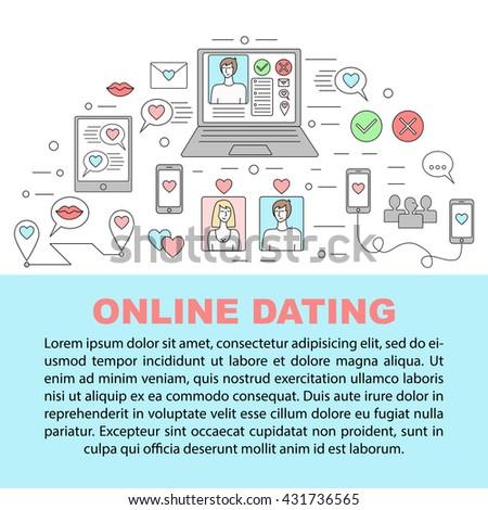 Online dating outline