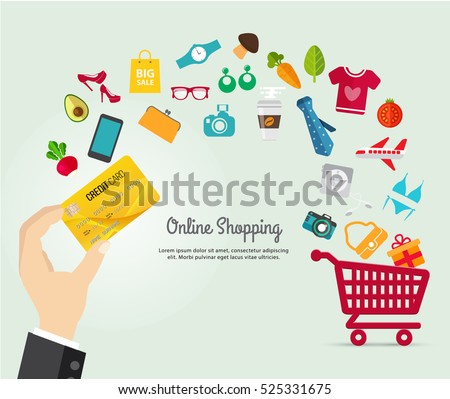 Easy credit online shopping