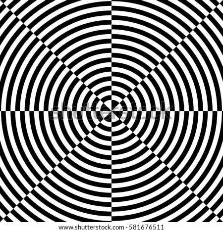 Op art also known as optical art is a style of visual art that