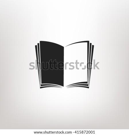Open book icon vector, open book icon eps10, open book icon picture, open book icon flat, open book icon, open book web icon, open book icon art, open book icon drawing, open book icon, book icon  - stock vector