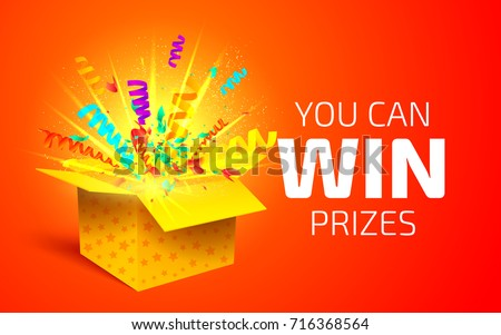 Lottery winners black and yellow draw