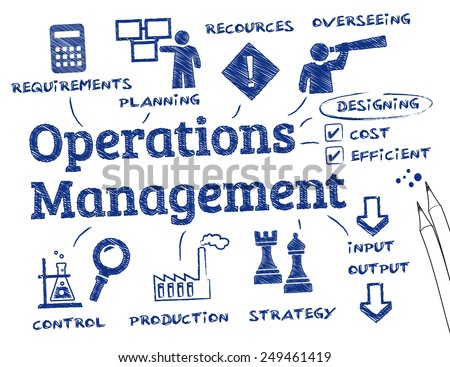 Operations Manager Icon Operations Management