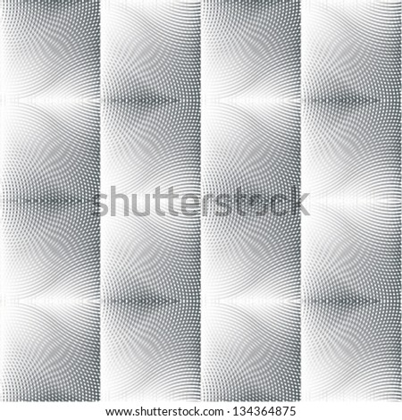 optical illusion seamless pattern & texture - stock vector