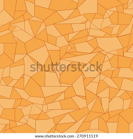 orange abstact wallpaper  set  great for any use. Vector EPS10. - stock vector