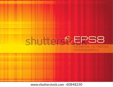 Orange abstract. Vector. - stock vector