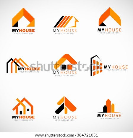 House logo stock images royalty free images vectors for House logo design free