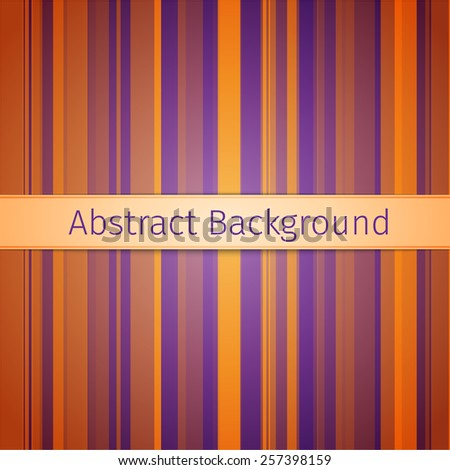 Orange and purple modern abstract line background, excellent vector illustration, EPS 10