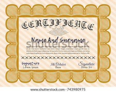 Awesome Certificate Templates