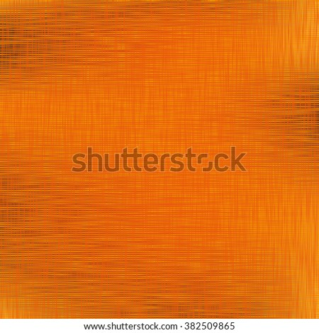 Orange background. A vector illustration with fabric