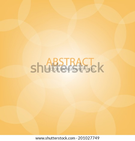 orange background on white bubble circle abstract texture for text and message modern web design , Vector - stock vector