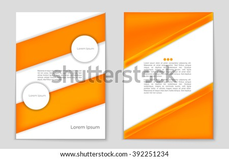 brochure background template