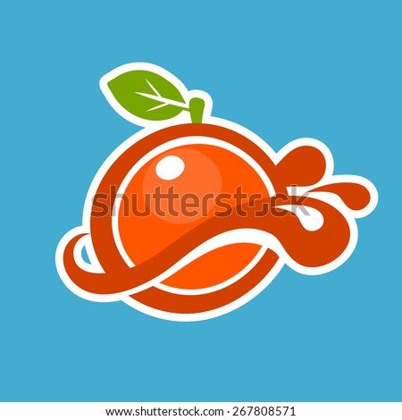 juice logo stock images  royalty free images   vectors Orange Juice Brands orange juice brands logos