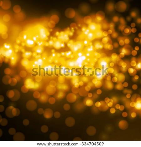 orange stylish fantasy background  - stock vector