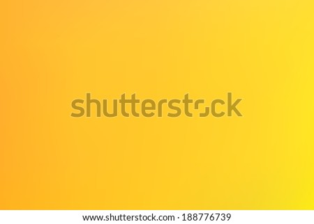 Orange yellow bright blurry abstract background - stock vector