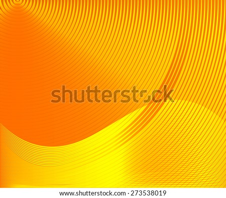 orange yellow glow metal texture background. blazing. Abstract template for website technology computer graphic  business and internet. text box. infographics - stock vector