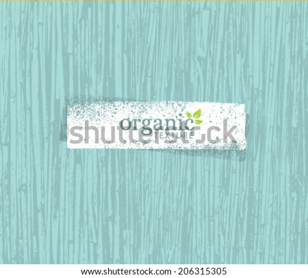 Organic Nature Friendly Eco Bamboo Background. Bio Vector Texture. - stock vector