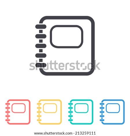 organizer icon , vector illustration - stock vector