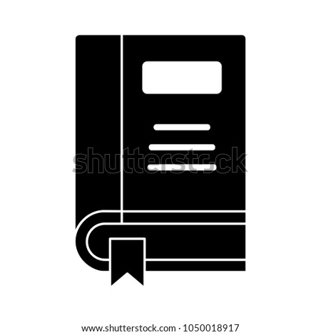 organizer planner book icon address book stock vector 1050018917