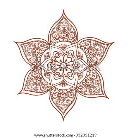 Arabic Henna Design Stock Photos Royalty Free Images Amp Vectors
