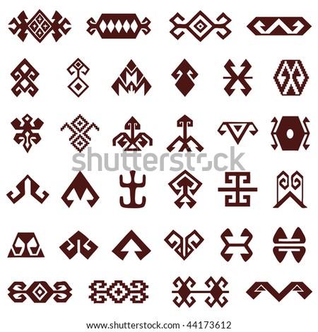 Exceptional Oriental Design Elements   Stock Vector