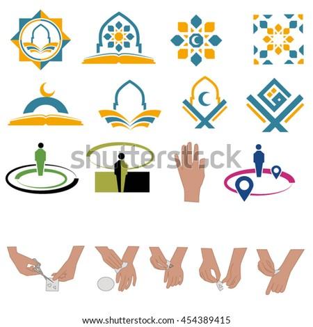 Oriental Ornament Symbol  - stock vector