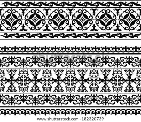 Oriental pattern - stock vector