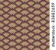 Oriental texture - stock vector