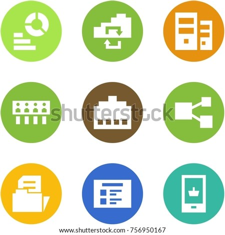 origami corner style icon set diagram stock vector 756950167 computer connection ports origami corner style icon set diagram, exchange, server, hub, connector,