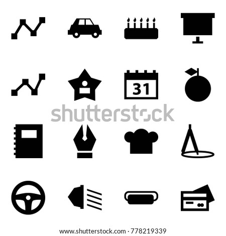 cake graph stock images  royalty