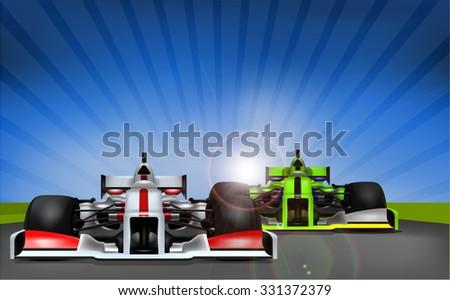 Original Concept Racing Cars - stock vector