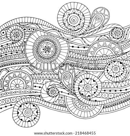seamless geometric patterns black and white