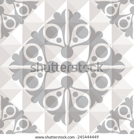 Original graphic seamless composition. EPS10 - stock vector